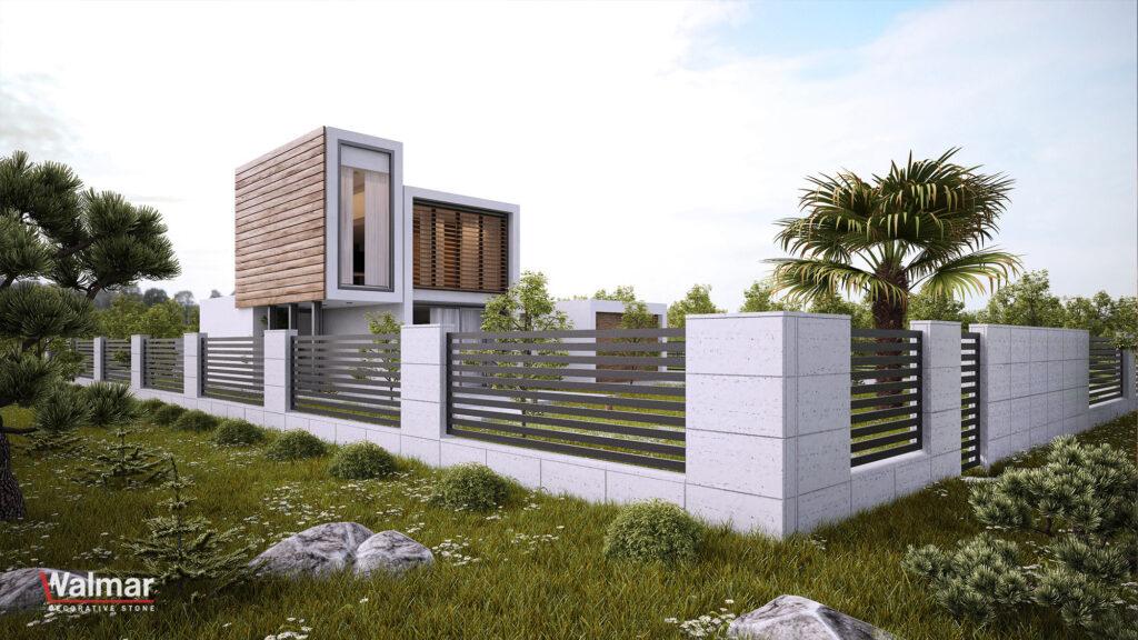 Ogrodzenia z betonu architektonicznego | Walmar